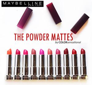 Maybelline Colorsensational Powder Matte Lipstick, You Choose