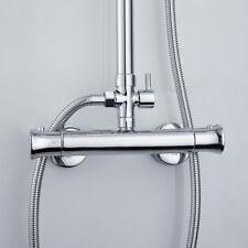 Barre thermostatique mitigeur douche valve robinet mural soupape exposée chrome