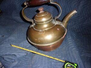 Jabez Burns & Sons, New York antique copper/bronze coffee pot.