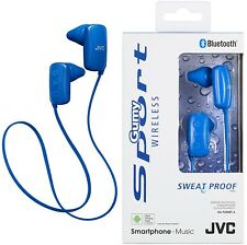 JVC ha-f250bt bleu sorts Bluetooth en oreille casque ORIGINAL / TOUT NOUVEAU