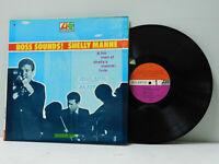 Shelly Manne jazz LP Boss Sounds! Atlantic mono