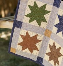 MODA PRIMITIVE GATHERINGS SPARKLES QUILT KIT - INCLUDES BINDING & BACKING FABRIC