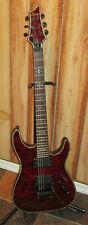Schecter Hellraiser C-1 FR See Thru Cherry 6 String Electric Guitar