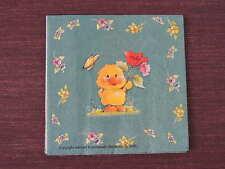 3 pièces serviettes poussins pâques printemps Eastern Fleurs avec papillon Bains