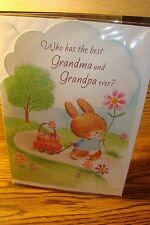 "EASTER : Grandma-Grandpa "" Who has the best Grandma and Grandpa ever "" New e2"