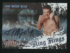 "2008 Donruss Playoff JASON ""Mayhem"" MILLER Ring Kings auto /283 UFC"