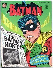 BATMAN mondadori N.16 L' IMPRONTA DEL FANTASMA 1967 robin sergio tarquinio