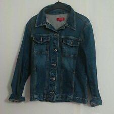H&M Damen-Jeansjacken aus Denim mit Knöpfen