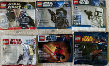 LEGO Star Wars Chrome Vader & StormTrooper White Fett Shadow ARF Revan Darth NEW