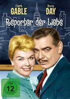 REPORTER DER LIEBE   DVD NEU  DORIS DAY/CLARK GABLE/NICK ADAMS/+