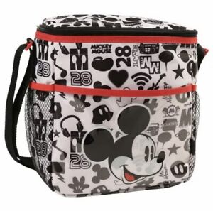 Diaper Bag Lunch Tote Small Disney Mickey White Music 28 NWT
