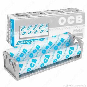 OCB rullo METALLO ROLLATORE sigarette per CARTINE CORTE•
