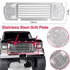 Metal steel Radiator Grill Plate for Traxxas TRX-4 BRONCO 1/10 RC Car Decoration