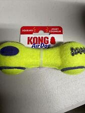 Kong Air Dog Dumbbell Small Squeaker Play Dog Puppy Toy