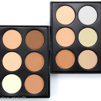 NEW 6 Colour Makeup Blush Bronze Highlight & Contour Powder Palette Golden Sugar