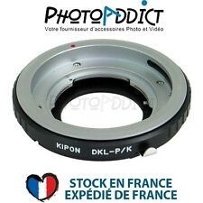 KIPON DKL PK - Bague d'adaptation objectif Retina DKL sur boitier Pentax K
