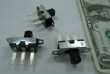 Lot 10 CW Panel Mount 3 Terminal Slide Switches 6A 125VAC .5A DC CSA UL Electric