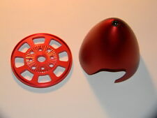 """Spinner 3""""(76mm) Red Color Anodized Drilled For DLE 30/55 MLD 35/70 EME 35/55"""
