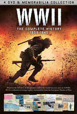 NEW WWII: The Definitive Story (DVD, 2013, 4-Disc Set)