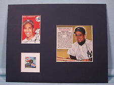 New York Yankee great Phil Rizzuto & stamp issued to honor the Subway Series