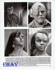 Total recall special effect make-up VINTAGE Photo 4 images on one 8  X 10 photo