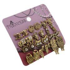 Butterfly Alloy Crystal Stud Fashion Earrings