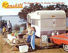 VINTAGE 1966 KENSKILL TRAVEL TRAILER RV BROCHURE - PDF DOWNLOAD