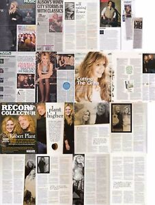 ALISON KRAUSS : CUTTINGS COLLECTION - interviews  clippings