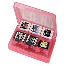 Game Card Case Holder 28 in 1 Cartridge Storage Box for Nintendo 3DS DSI Pink TL
