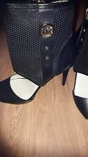 MICHAEL KORS OPEN TOE BOOTS SECONDS SIZE 7.5UK (REDUCED PRICE)
