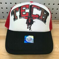 Texas Tech Red Raiders NCAA TOW In The Paint Graffiti Trucker Hat OSFA Cap NWT