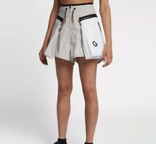Nike NikeLab x ACG Cargo Shorts Vast Grey/White Womens Size Small AJ0986 092 S