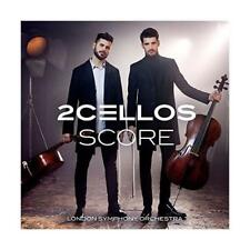 2CELLOS  SCORE LONDON SYMPHONY ORCHESTRA AUDIO CD FREE SHIPPING