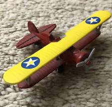 Vintage Plane P-12E Cast Iron Plastic 3�