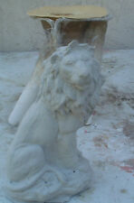 concrete plaster mold latex and fiberglass LION  mold