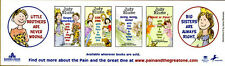 Judy Blume The Pain and The Great One Stickers Bookmark BRAND NEW/MINT CONDITION