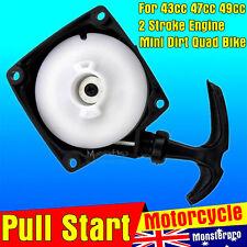 Pull Start Starter 33cc 43cc 47cc 49cc 50cc Mini Pocket Dirt Bike chopper ATV Sc