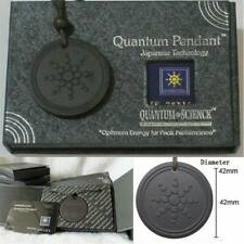 Black Quantum Pendant Necklace Scalar Orgon Energy neg ions EMF Protection Kit