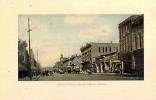 Walla Walla,Washington,Main Street,Trolley Car,c.1909