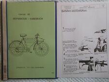 Reparatur Handbuch Schweitzer Militär Armee Ordonnanz Fahrrad Velo M 93
