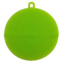 HOT Multipurpose Antibacterial Silicone Sponge Cleaning Dish Washing Kitchen cw