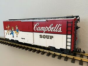 LGB 4191 CS :: Campbell's Soup Kids Sports Boxcar G-Scale