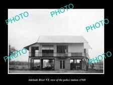 OLD POSTCARD SIZE PHOTO OF ADELAIDE RIVER NORTHERN TERRITORY POLICE STATION 194