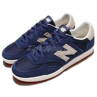 New Balance CRT300SM D 300 Blue Ivory Suede Men Shoes Sneakers CRT300 SMD
