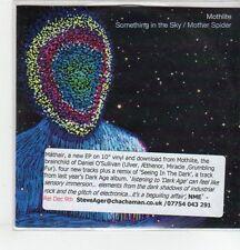 (ER813) Mothlite, Something In The Sky - 2013 DJ CD