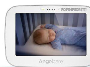 Foppapedretti Angel Care AC517 nuovo Videomonitor di suoni+movimenti Display 5''