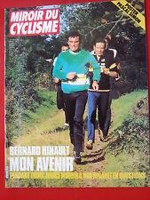 1983  miroir du cyclisme n°344 HINAULT STEPHEN ROCHE LES JEUNES THEVENET SIMON