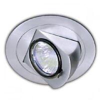 "NIB Con-Tech Lighting CTR324 P White 3"" Fully Adjustable Recessed LV Light Trim"