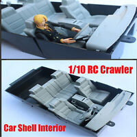 Car Shell Interior Modified Parts for 1/10 Toyota Land Cruiser LC80 RC Crawler