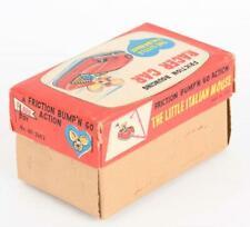 NEAR MINT 1960S JAPAN TIN FRICTION TOPO GIGIO RACER W/ BOX